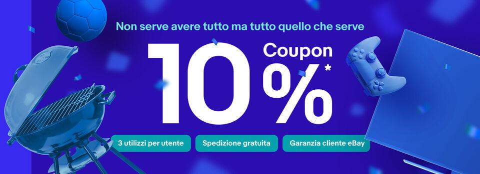 Scopri il codice - Euro Coupon 10% fino a 50€ di sconto