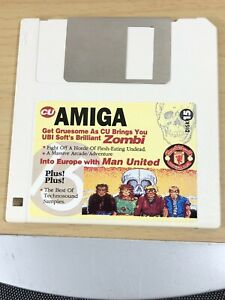 CU-Amiga-Magazine-Cover-Disk-15-Zombi-Man-United-TESTED-WORKING