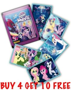 PANINI-MY-LITTLE-PONY-THE-MOVIE-SINGLE-STICKERS-2017-BUY-4-GET-10-FREE