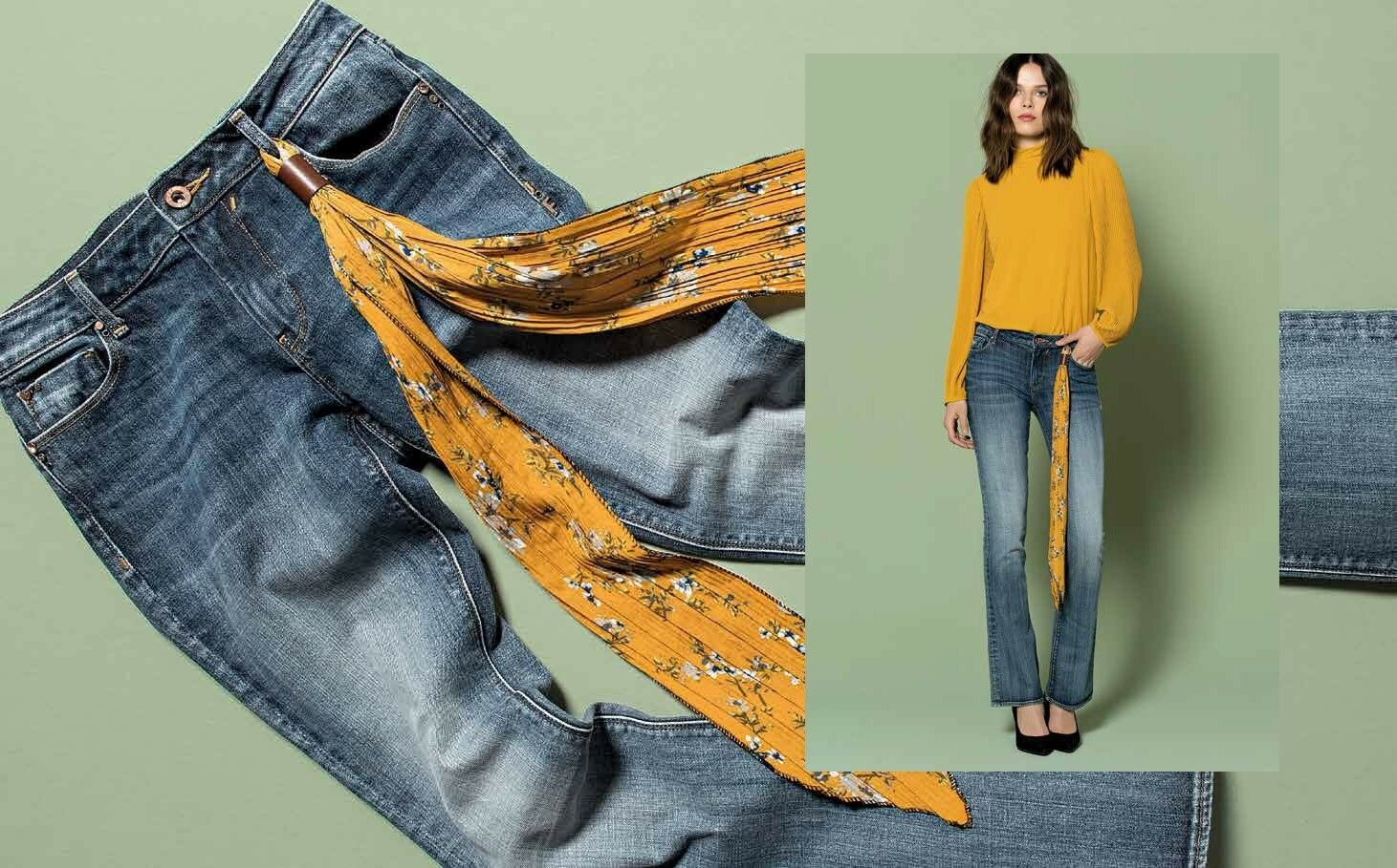 JEANS JEANS JEANS avvioCUT FRACOMINA FR18FPJHoroIE Dimensione 29,30 e728dd