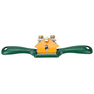 Iron-Spoke-Shave-Plane-44mm-Cutting-Edge-Metal-Wood-Shaping-WoodworkerYL