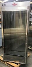 Roll Thru Hot Food Holding Cabinet Nsf For 72 High Carts Glass And Solid Door
