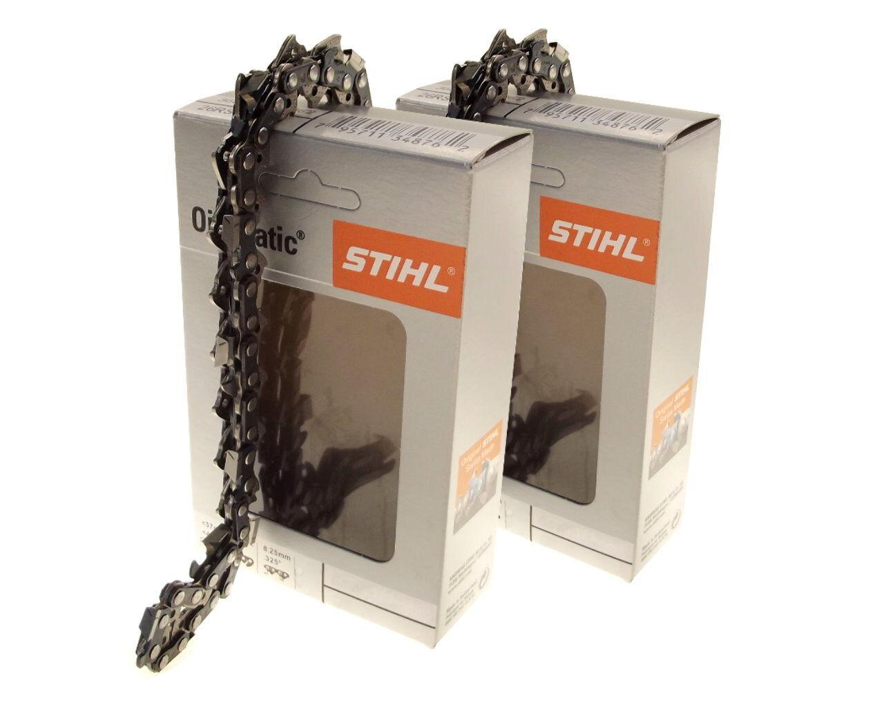 2x40cm Stihl Rapid Super cadena para solista 650 650 650 motosierra sierra cadena .325 1,5 ecd22c
