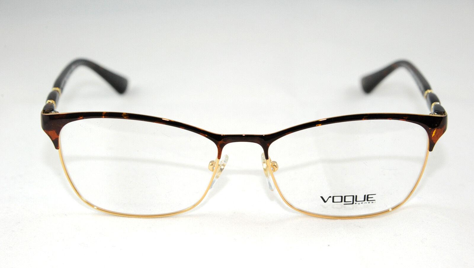 9959b5ad53651e Monture optique Vogue en Métal pour Femmes Code Vo3987 Nouvelle   eBay