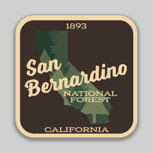 San Bernardino National Forest Decal Sticker Explore Wanderlust Camping Hiking
