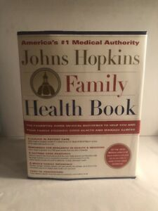 JOHNS-HOPKINS-FAMILY-HEALTH-BOOK-1st-Edition-ILLUSTRATED-Hardcover-REFERENCE