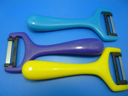 2 X Éplucheur Couteau-économe Diabolo avec Lame Inoxydable Solingen Couleur