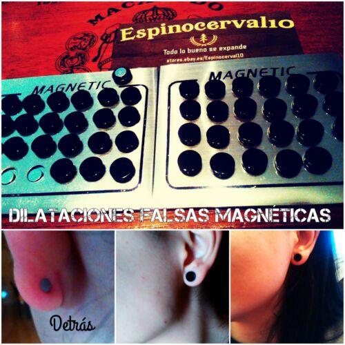 Pendientes Magneticos para oreja sin perforación Ear magnetic earring Acero316l
