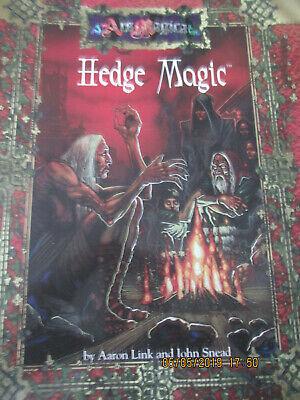 Ars Magica Siepe Magic Sb In Buonissima Condizione Rpg Atlas Games-mostra Il Titolo Originale