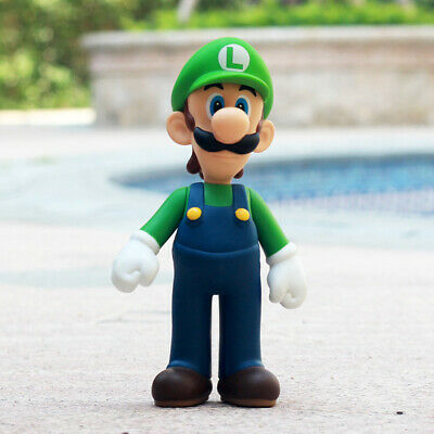 """Super Mario Bros Toy 24cm 9/"""" Big Size Red Mario Poseable Action Figures Hot Gift"""