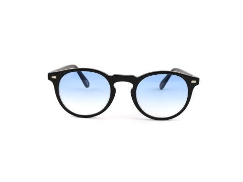 Occhiali Da Sole SUN LOVERS stile Moscot SLAT8075  nero//azzurro sfumato