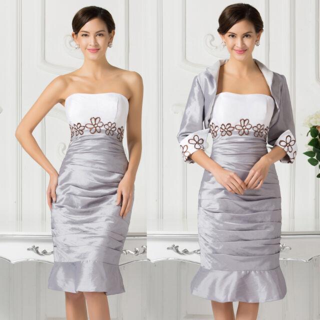 2015 Vintage Lace Mother of the Bride CocktailFormal Dresses Short Evening Gown