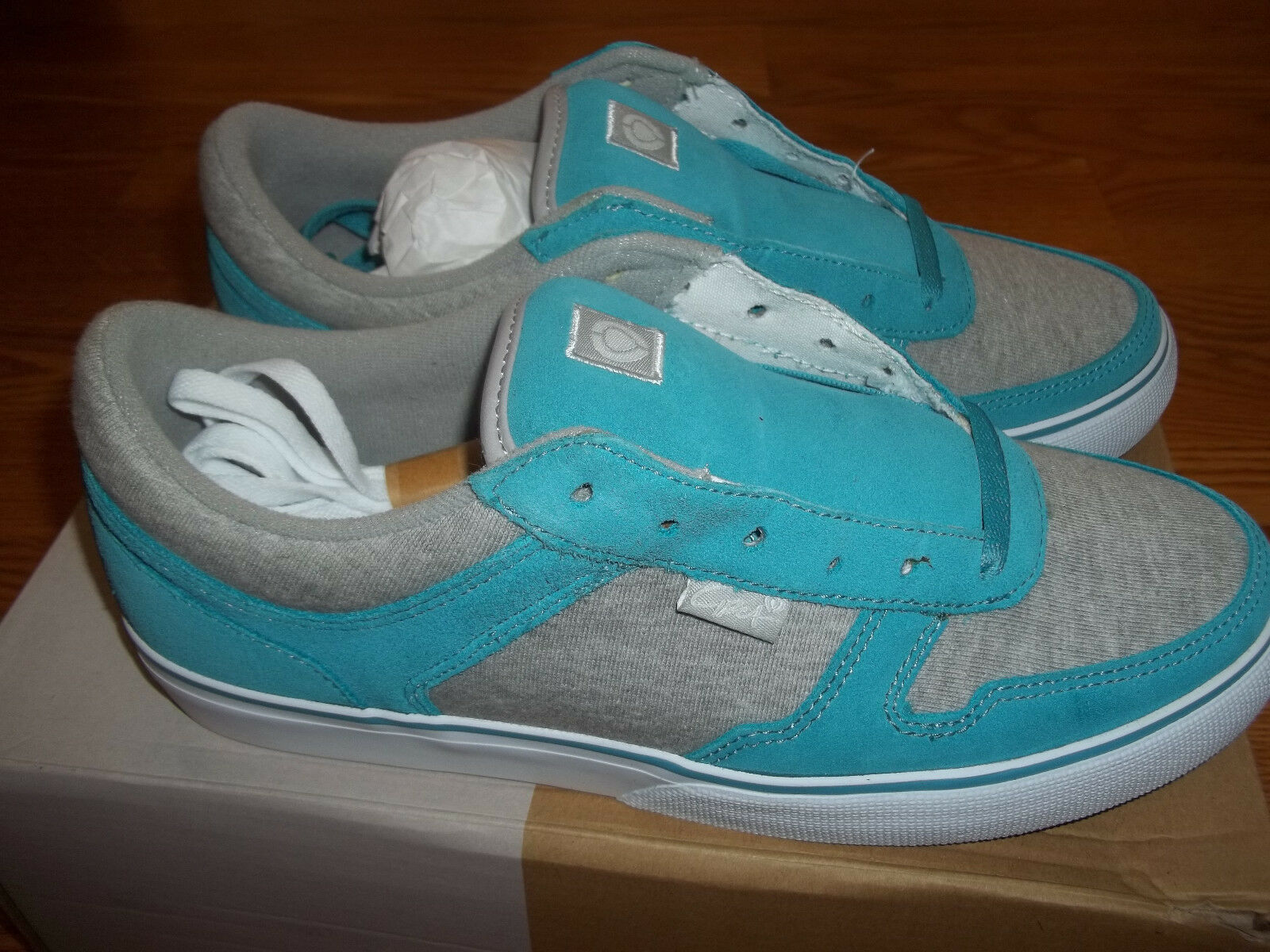 Circa 4 Track Blue/Gray Brand Womens Shoes Size 10 Brand Blue/Gray New f71d2b