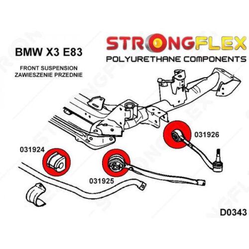 X3 E83-31103412781 Silentblocs polyuréthane bras avant BMW X5 E53