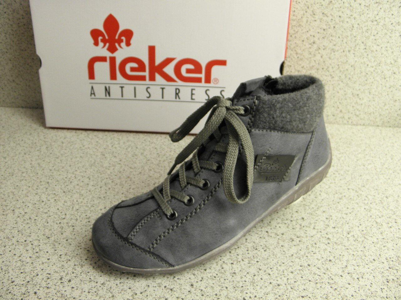 rieker ® Top-Preis  blau NEU topmodisch   L6540-14 (R394)