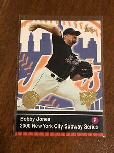2000-World-Series-Topps-Baseball-Base-Card-19-Bobby-Jones-New-York-Mets
