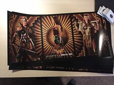 """New WONDER WOMAN 9""""x18"""" Authentic Original Promotional IMAX Movie Poster 2017 DC"""