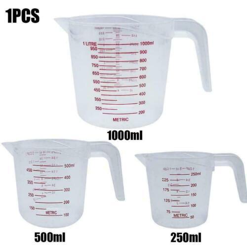 Plastic Measuring Cup Jug pour Spout Surface Kitchen Supplies Tool N1A3