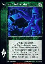 Pentex Subversion VTES V:TES Master Dark Sovereigns