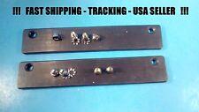 2 MAG-TAG Magnetic License Plate Holder Rubber Flex Magnet, Plate, Dealer USA