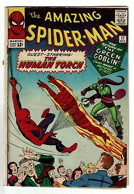 AMAZING SPIDER-MAN, No 17, 2nd app Green Goblin + Human