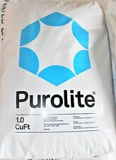 Purolite C-100E Cationic Resin Replacement for Water Softener 1 CuFt Bag Media