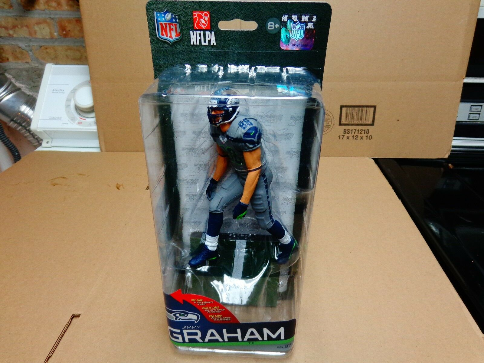 Mcfarlane sports nfl37 JIMMY GRAHAM seattle seahawks  CL CHASE VARIANT  500