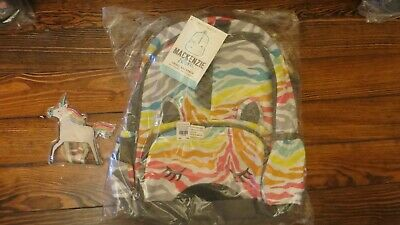 Pottery Barn Set Rainbow Backpack Unicorn Pack School