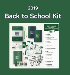 2019-NCT-Dream-Jaemin-Ver-Back-To-School-KIT-Full-Package