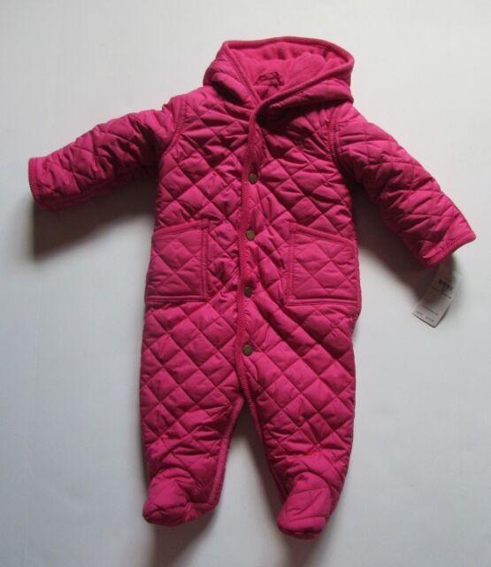 24aa0c2f9 Polo Ralph Lauren Girls Jacket Sz 6 Months Baby Infant Barn Bunting ...