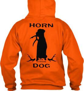 Custom-Deer-Antler-Shed-Hunting-Dog-Shirt-Hoodie-Long-Sleeve-S-5XL