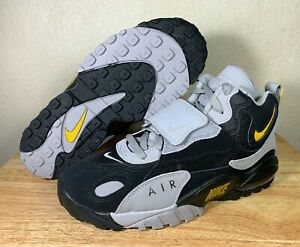 Details about Nike Air Max Speed Turf Mens Training Shoes Black Grey Yellow SZ New AV7895 001