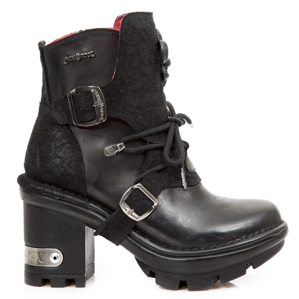 New Rock bota botas señora Gothic negro m. neotyre 65-s1