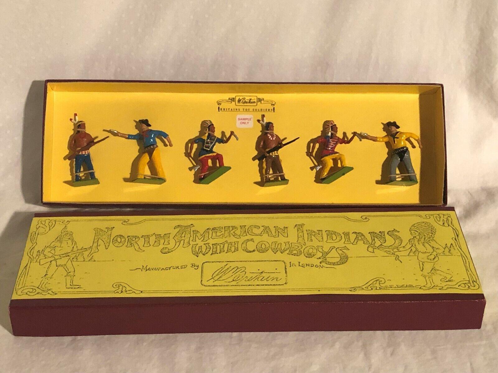 Britains Spielzeugsoldaten  8000 Set Selten 1 Of 30 Sets Hergestellt Probe nur
