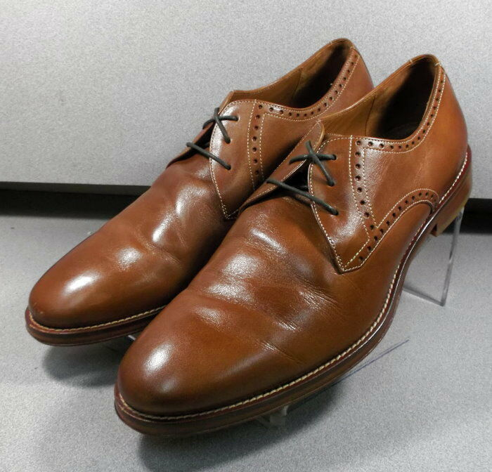 5912302 PF50 Men's shoes Size 13 M Tan Leather Lace Up Johnston & Murphy