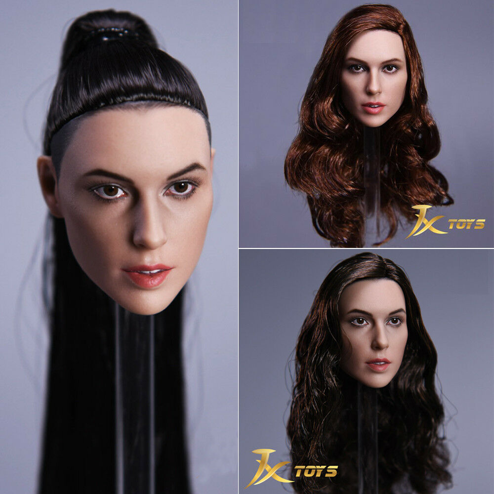 JX Toys 1/6 scale Wonder Woman Gal Gadot Female Head Sculpt  JX-09 A B C
