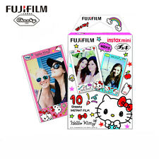 10 Hello Kitty Fujifilm Instax Mini Instant Cartoon Film for Mini 7s 8 25 50s 90