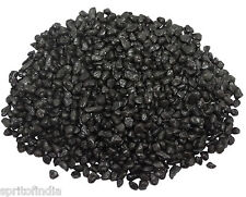 Hi fish aquarium water Black color gravel 2kg stone pebbles chips decoration