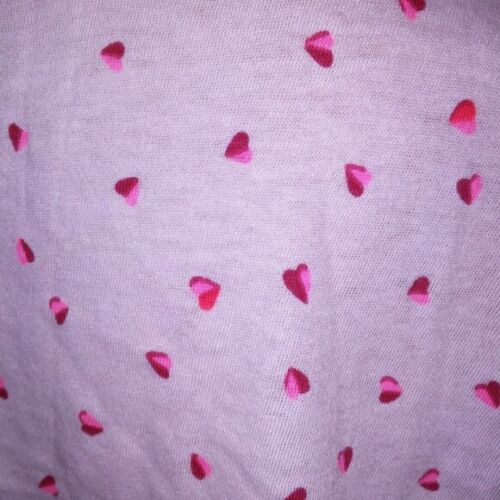 Victoria Secret Pajama Set Small Top XS Bottom Shorts Pink Hearts Button