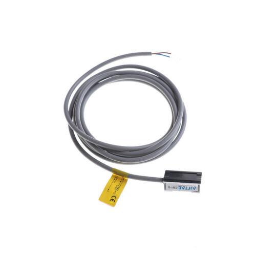 Air Cylinder 1.5m Wired CS1-U Magnetic Reed Switch Sensor DC AC 5-240V AB