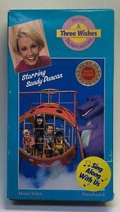 RARE BARNEY VHS: 1990 - Three Wishes - Barney & The ...