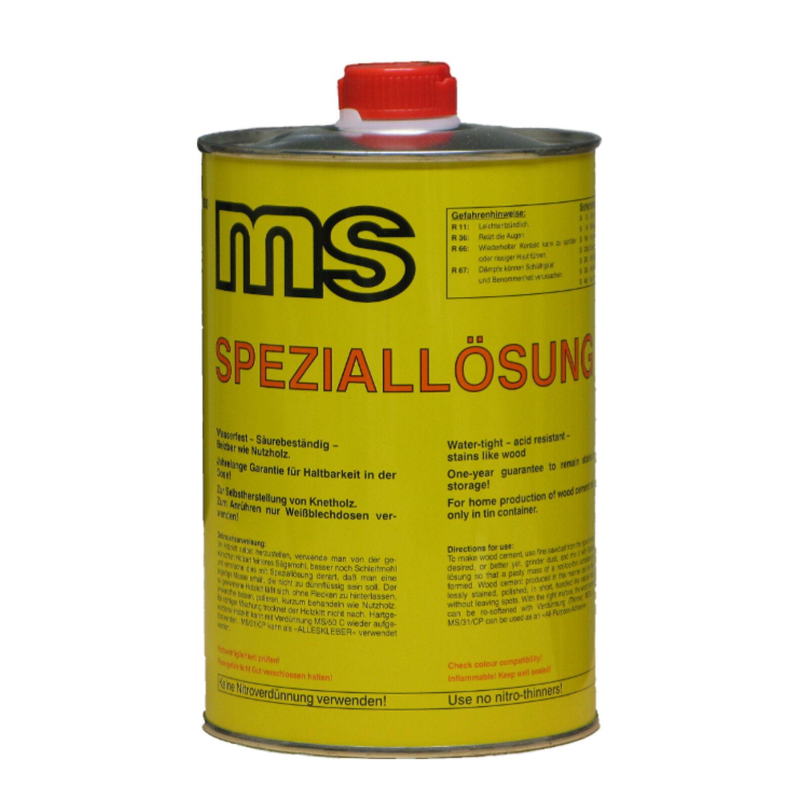 holzkitt speziallösung ms/31 cp, holzspachtel selber machen