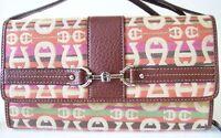 Etienne Aigner Convertible Clutch Multifunction Purse Wristlet Shoulder Bag