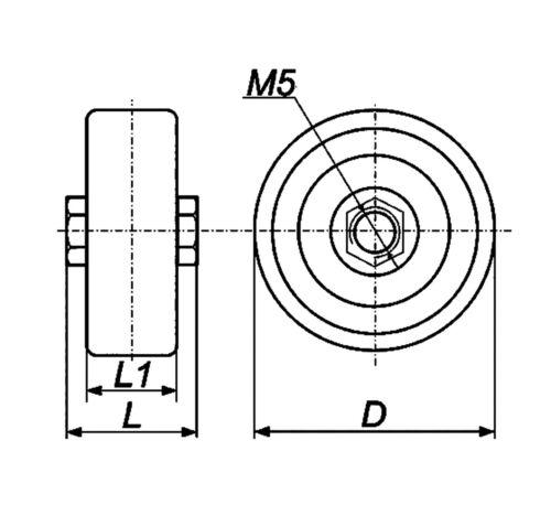 4 Pcs 3300pF 10 kV KVI-3 Poignée de porte en céramique de haute tension condensateur URSS new old stock