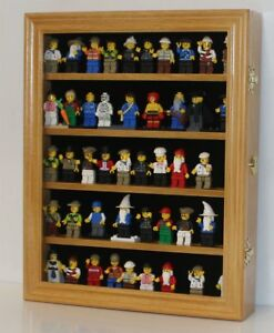 Image Is Loading Lego Minifigure Display Case Wall Cabinet Shadow Box