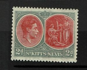 St-Kitts-Nevis-SG-71-Mint-Lightly-Hinged-Lot-082317