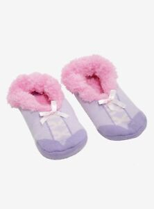 9-11 Slippers Disney The Lion King Fluffy Slipper Socks Anti Slip New With Tags