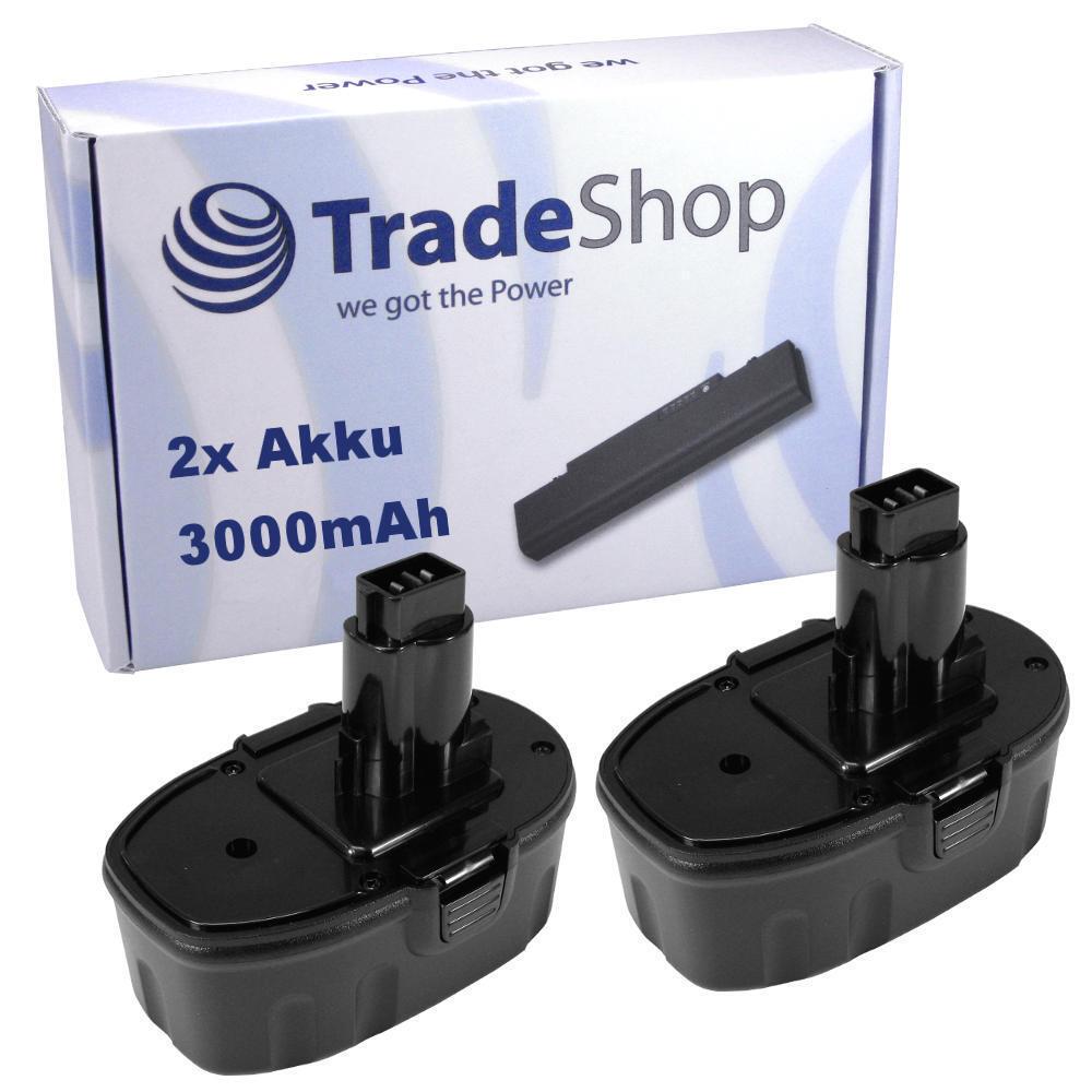 2x Akku 3000mAh 18V für DEWALT DW-960 DW-960 DW-960 DW960K2 DW995 DW997 DW997K2 1c145a