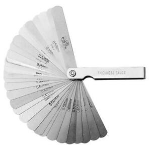 32-Blade-Feeler-Gauage-Thickness-Gap-Measuring-Spacing-Set-Imperial-Metric-Tool