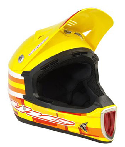 THE Thirty3 DOT Full Face Helmet Cube giallo Large L 5860cm New  Retail  105